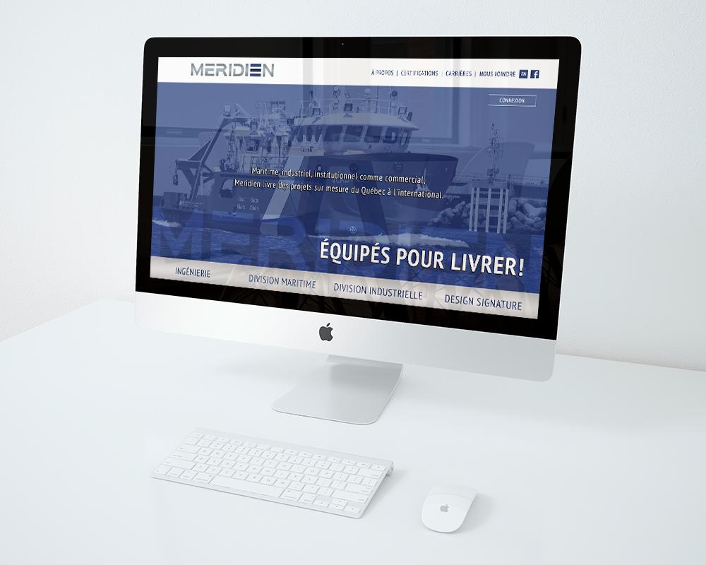 site web meridien