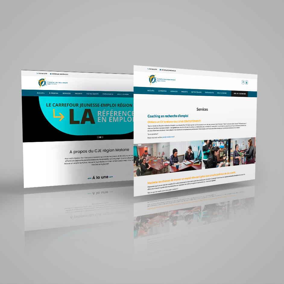 site web carrefour jeunesse emploi