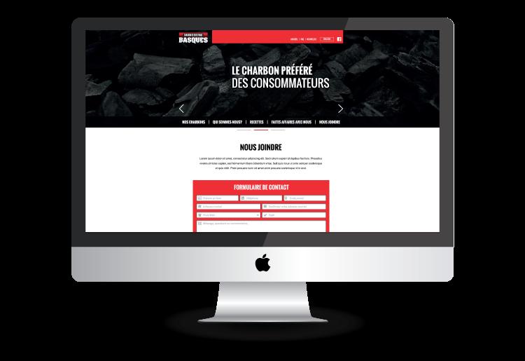 site web charbon de bois franc basques