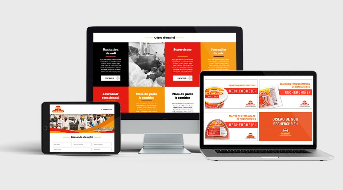 site Web gaspésien
