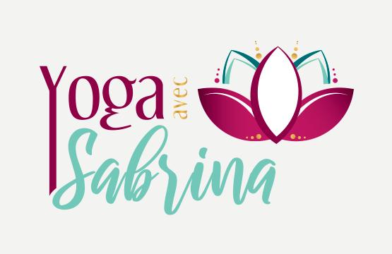 logo de yoga avec sabrina