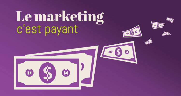 Bien qu'absent du payroll, le marketing travaille pour vous