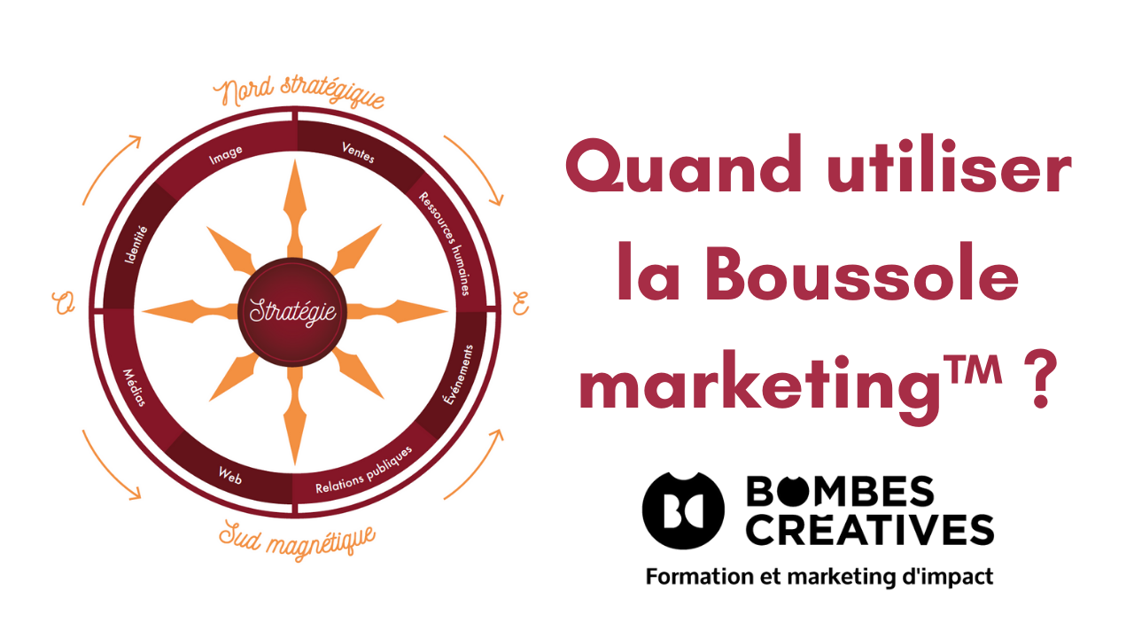 Quand utiliser la Boussole marketing™ ?